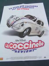 Poster HERBIE  FULLY LOADED ( la coccinelle revient ) WALT DISNEY FRENCH EDITION