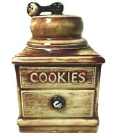 McCoy Coffee Grinder Cookie Jar Vintage 1960's