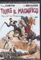 Dvd **TARAS IL MAGNIFICO** con Tony Curtis nuovo 1962