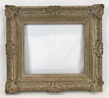 Vintage Baroque Barbizon Dutch Gold & Cream Frame 10 x 12 Opening (#2)