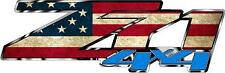 Z71 4 x 4 distressed Flag Vinyl Sticker Decal Cars Trucks Vans Walls Laptop