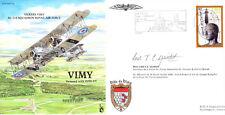 PP24 Vickers VIMY RAF volati Copertina firmata RAF Associazione