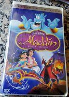 ALADDIN Walt Disney Special Platinum Edition RARE NEW Factory Sealed VHS Tape