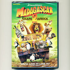 Madagascar: Escape 2 Africa 2008 PG animated family movie, new DVD Alex Marty ws