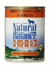 Natural Balance Limited Ingredient Diets Wet Dog Food Fish & Sweet Potato - NEW