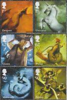 Großbritannien 2776-2781 (kompl.Ausg.) postfrisch 2009 Fabelwesen