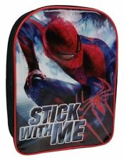 Spiderman Stick With Me Backpack Rucksack School Bag