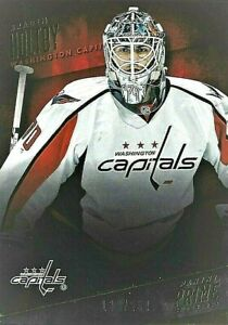 2013-14 Panini Prime Base Card of New Canuck Goalie Braden Holtby 138/299 13-14