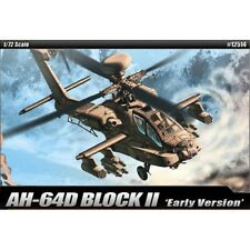 Academia Aca12514 1:72 Ah-64d Apache bloque II versión temprana [modelo kit de construcción]