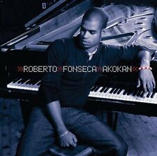 AKOKAN Autograph signed CD Album ROBERT FONSECA Enja Records Cuban Jazz Piano