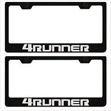 2X Stainless Steel For Toyota 4 Runner  License Plate Frame Cover Screw  Caps