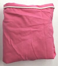 POTTERY BARN PB TEEN Slipcovered Desk Chair Slipcover, PINK w/WHITE PIPING, NEW
