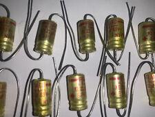 FRAKO 63Volt  KE 22uF  Electrolytic Cap's  Axial  GPF (N1) Red Mark NOS Qty (10)