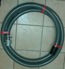 Firefighting pump suction hose 2 inch (50mm) x 5m with camlocks