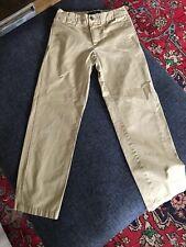 Polo Ralph Lauren Boys 8 Khaki Dress Pants Flat Front