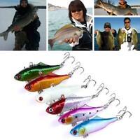 Fishing Lure 6CM 14G Rattlin Hard Bait Artificial Lures 6# Hooks Vibration Bait