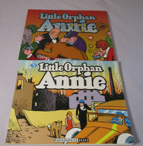 1992-95 1st Fantagraphics LITTLE ORPHAN ANNIE Volume 4 & 5 - 1934 & 1935 Strips
