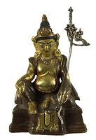 Soprammobile Tibetano Guru Rinpoche Padmasambhava 11 CM Rame Nepal AFR9-2387