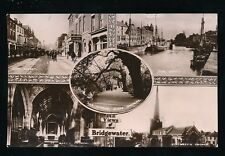 Somerset BRIDGWATER M/view Used 1914 RP PPCby Valentine