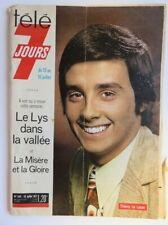 218 - Télé 7 jours  Juillet 1971 - Thierry le Luron - Deux chaînes de TV - ORTF