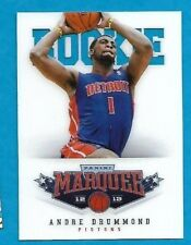 2012-13 Panini Marquee ANDRE DRUMMOND Rookie card PISTONS # 486