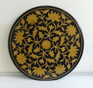 """36"""" Marble Table Top Pietra Dura Handmade Marquetry Mosaic Gifts Decor Home Art"""