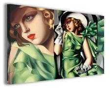 Quadri moderni famosi Tamara de Lempicka vol VIII stampa su tela canvas arredo