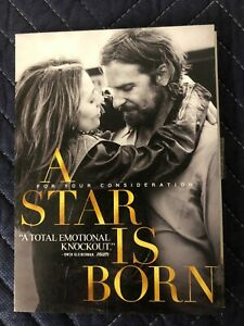 A Star Is Born DVD Screener Movie FYC, For Your Consideration, Lady Gaga