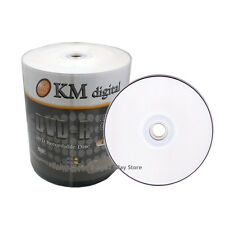SPECIAL SALE 200 16x White Inkjet HUB Printable Blank DVD-R Media Disc FAST SHIP