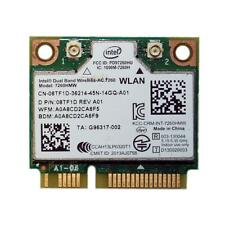 OEM Dell Mini PCI Express Half Height 8TF1D WLAN WiFi 802.11ac Wireless Card