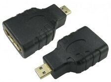 HDMI Micro (D) plug to HDMI Standard (A) socket adapter / gender changer