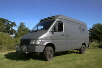 Mercedes Sprinter 312D 4x4 Camper Van Expedition Truck Overland Vehicle 2.9 4WD