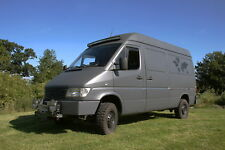 Mercedes Sprinter 312D 4x4 Camper Van Expedition Truck Overland Vehicle 2.9 4WD
