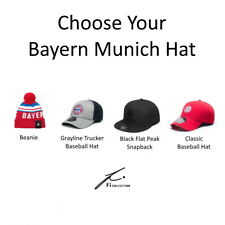 BAYERN MUNICH BASEBALL HATS Fi COLLECTION CHOOSE YOUR DESIGN OFFICIALLY LICENSED