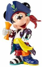 Romero Britto Disney Pirate Mickey Mouse with Map Pop Art Figurine 4057042 New