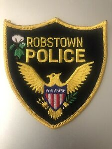 Texas Police - Robstown  Police   TX  Police  Patch