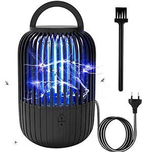 BOZHZO Lampe Anti Moustique, 2 en 1 UV Tue Mouche Électrique avec éclairage LED,