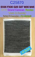 25870 CARBONIZED CABIN AIR FILTER For GRAND CARAVAN EX35 GT-R ROUTAN FAST SHIP