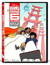 Marvel Big Hero 6 Six The Series Back in Action Disney Animated TV Show on DVD