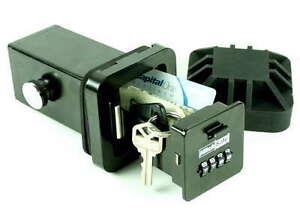 "Hitch SAFE 2"" receiver Lock Hide A Key Car Truck SUV Chevrolet Vault"