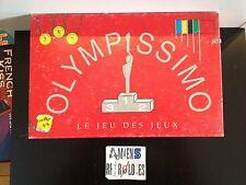 Olympissimo le jeu des jeux (complet, elements sous emballage) 1992 tutmar