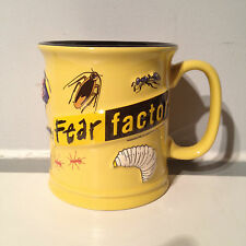 Fear Factor TV Dare Game Show Coffee Tea Cup Mug Bugs Ants Spiders Vintage 2003