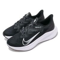 Nike Wmns Zoom Winflo 7 Black White Anthracite Women Running Shoes CJ0302-005