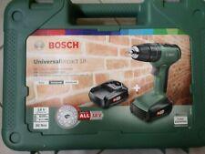 Trapano Battente Avvitatore A Batteria Universal Impact 18 Bosch