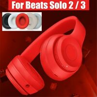 For Beats Solo2 Solo3 Wireless Replacement Ear Pads Cushion Cover Case 2pcs