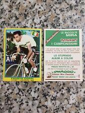 TUTTOSPORT I CAMPIONISSIMI MIRA 1968 FIGURINA N.254 FAUSTO COPPI NUOVA BUSTINA