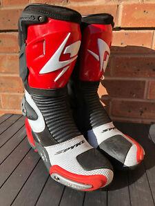 Spyke Magnesuim motorcycle boots uk 8