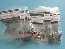 Kit 10value 500pcs 4X7mm 0.1uF-100UF Electrolytic Capacitor Assortment new