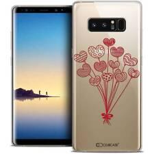 "Coque Crystal Gel Pour Samsung Galaxy Note 8 (6.3"") Extra Fine Souple Love Ballo"