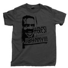 The Shining T Shirt Heres Johnny Stanley Kubrick Stephen King Movie Blu Ray Dvd